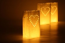 Luminary Candle Bags