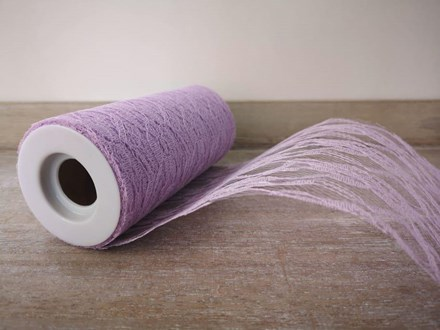 Light Purple Lace Roll 15cmx 10m LPL15