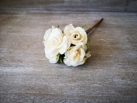 6 Head Champagne Rose Bouquet AF0297C