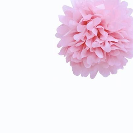 Baby Pink Tissue Pom Pom - Small Baby-Pink-Tissue-Pom-Pom---Small