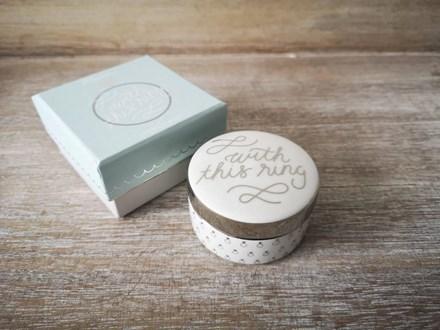 'With this Ring' Ring box rosannaringbox