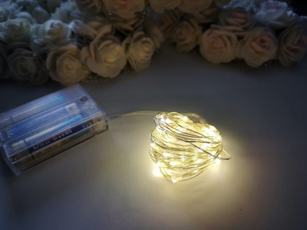 5m Seed Lights Warm White Silver Wire 5m-Seed-Lights-Warm-White-Silver-Wire