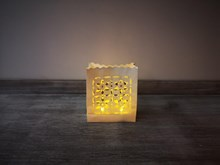 10P Flower Luminary Candle Bags Luminary-Candle-Bags-Flower-design---Pack-of-10