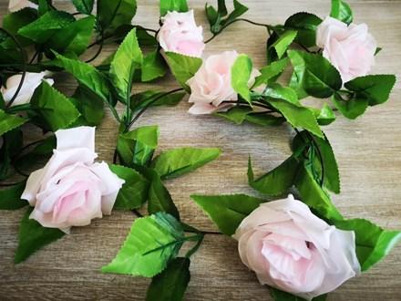 Pink Rose Garland 2.4mtrs Pink-Rose-Garland-2.4mtrs
