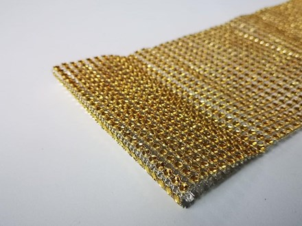 Gold Diamond Look Wrap 1mtr Gold-Diamond-Look-Wrap-1mtr