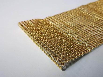 Gold Diamond Look Wrap 1mtr Gold-Diamond-Look-Wrap-1mtr