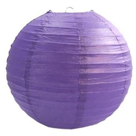 Purple Paper Lantern - 30cm Purple-Paper-Lantern-30cm