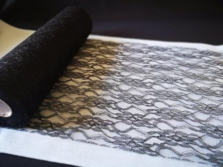 Black Lace Roll 30cmx 22mtrs Black-Lace-Roll-30cmx-22mtrs
