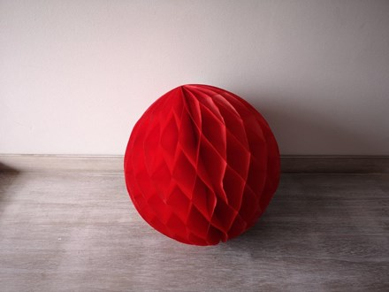 Red Honeycomb Lantern 30cm Red-Honeycomb-Lantern---30cm