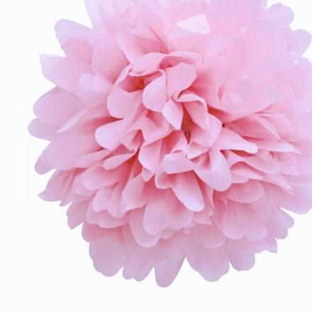 Baby Pink Tissue Pom Pom - Large Baby-Pink-Tissue-Pom-Pom---Large