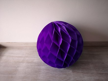 Purple Honeycomb Lantern 30cm Purple-Honeycomb-Lantern-30cm