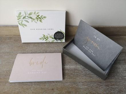 Wedding Vow Cards Set OWV10