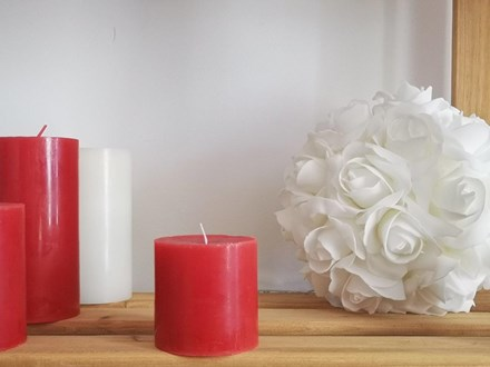 Red Pillar Candle Small Red-Pillar-Candle-Small