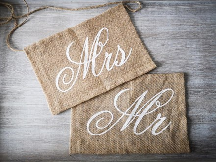 Burlap Mr & Mrs Chair Signs Burlap-Mr-&-Mrs-Chair-Signs