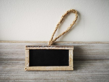 Mini Hanging Chalkboard Tag Mini-Hanging-Chalkboard-Tag