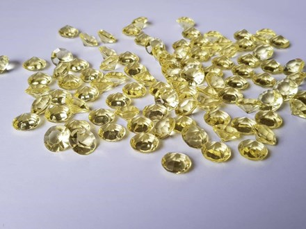 Yellow Diamond Confetti 10mm Yellow-Diamond-Confetti-10mm