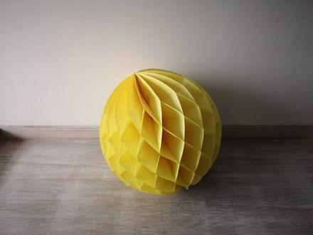 Yellow Honeycomb Lantern 30cm Yellow-Honeycomb-Lantern-30cm
