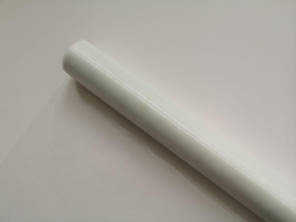 Sheer Ivory Organza 71cm OI971