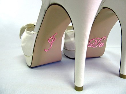 I Do Shoe Stickers Pink I-Do-Shoe-Stickers Pink