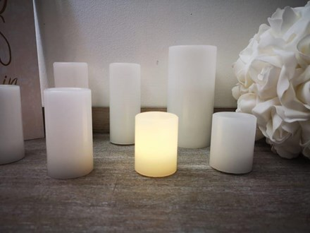 Wax Candle With LED Light 6.5cm Wax-Candle-With-LED-Light-6.5cm