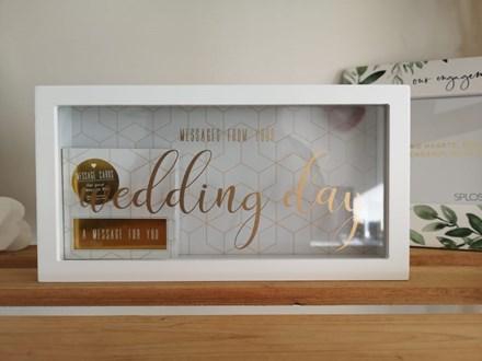 Wedding Day Message Box WDB20