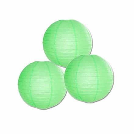 Green Paper Lantern 20cm - 3pack Green-Paper-Lantern-20cm-3pack