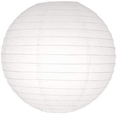 White Paper Lantern 30cm White-Paper-Lantern-30cm