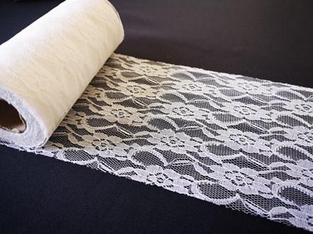Ivory Lace Roll 15cmx 22mtrs Ivory-Lace-Roll-15cmx-22mtrs