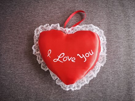 """I Love You'' Heart 18cm 18cmheart"