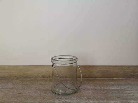 Hanging  Vase - Clear Hanging--Vase---Clear