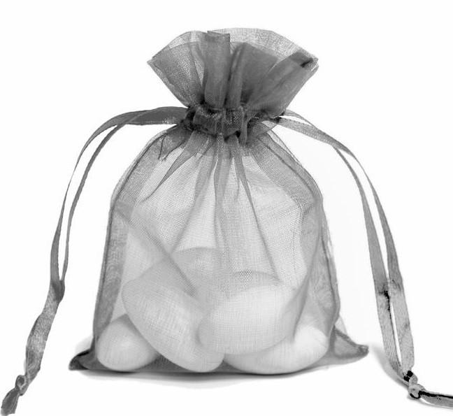 Silver Organza Bag 10p Silver Organza Bag 10p