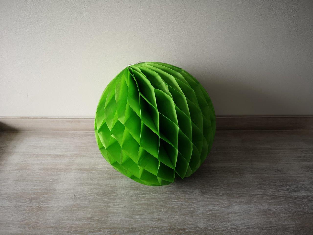 Green Honeycomb Lantern 30cm Green-Honeycomb-Lantern-30cm