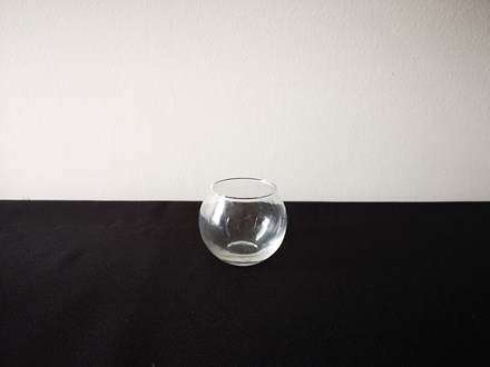 Hire - 6cm Fishbowl Vase Hire-6cmfishbowl