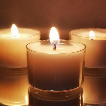 Clear Tealight Candles 50p Clear-Tealight-Candle-50p