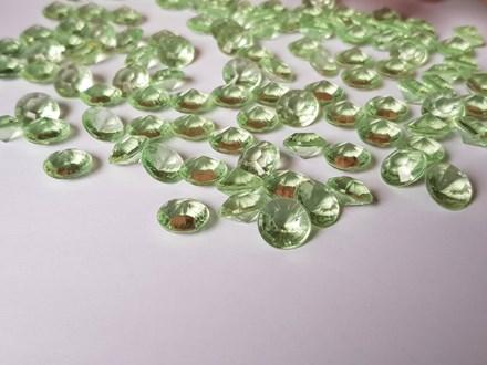 Soft Green Diamond Confetti 10mm Soft-Green-Diamond-Confetti-10mm
