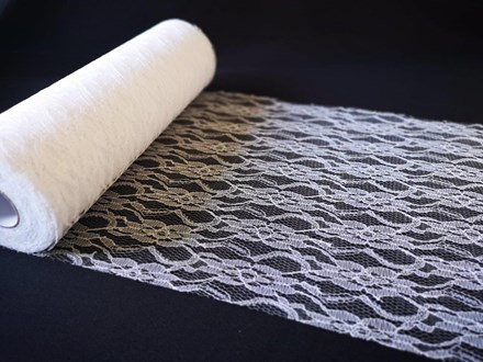White Lace Roll 30cmx 22mtrs White-Lace-Roll-30cmx-22mtrs