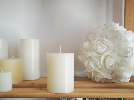 Ivory Pillar Candle Medium Ivory-Pillar-Candle-Medium