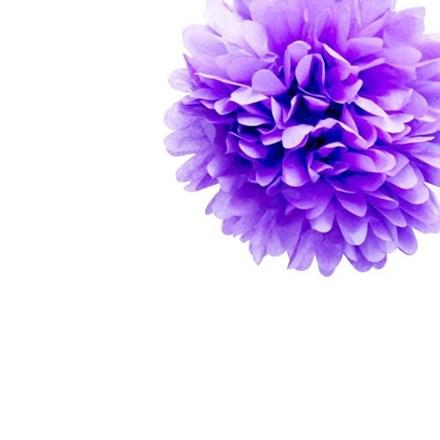 Lavender Tissue Pom Pom - Small Lavender-Tissue-Pom-Pom---Small