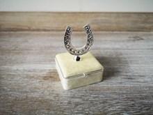 Ivory Horseshoe Trinket Box ivoryhorseshoebox