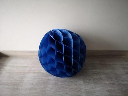 Blue Honeycomb Lantern 30cm Blue-Honeycomb-Lantern-30cm