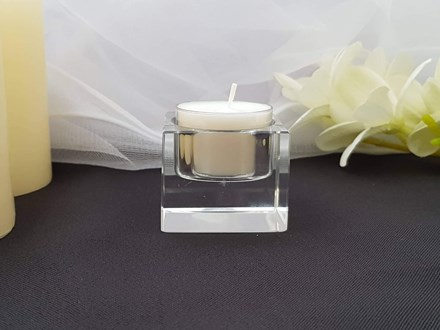 Crystal Tealight Holder Small Crystal-Tealight-Holder-Small