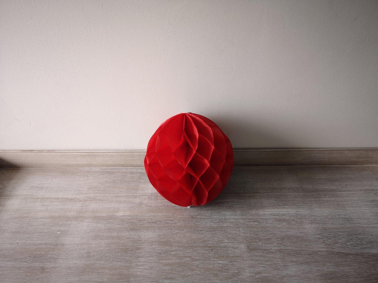 Red Honeycomb Lantern 20cm Red-Honeycomb-Lantern-20cm