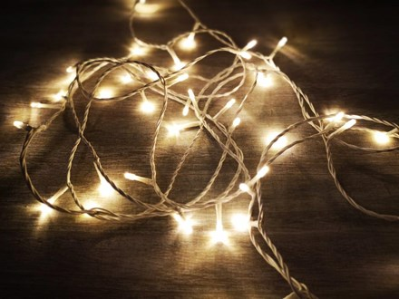 Fairy Lights 50mtrs - Warm White Fairylights-50m-warm