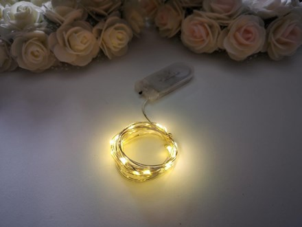 2m Seed Lights Warm White Silver Wire 2m-Seed-Lights-Warm-White-Silver-Wire