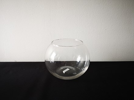 Hire - 15cm Fishbowl Vase Hire-15cmfishbowl