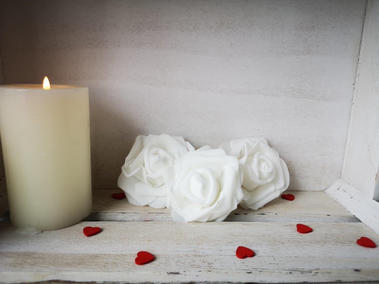 Foam Rose White 8cm Foam-Rose-White-8cm