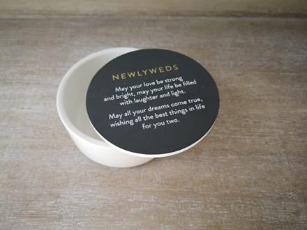 Newlyweds Trinket Box NWT10