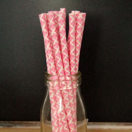 Hot Pink Damask Paper Straws Hot-Pink-Damask-Paper-Straws