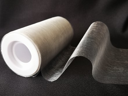 Silver Organza 12cm x 22m Silver-Organza-12cm-x-22m