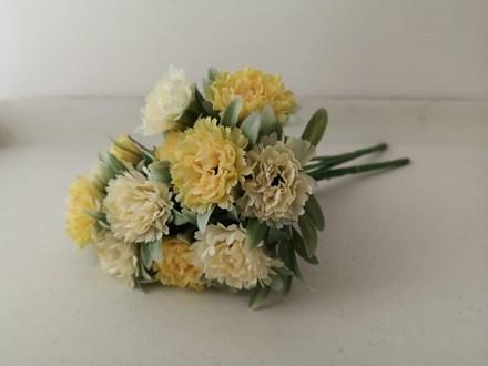 Yellow Carnations 7 Head AF0389